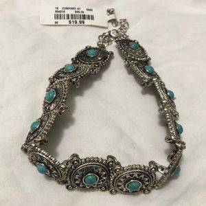 Jewelry - Turquoise Choker Necklace